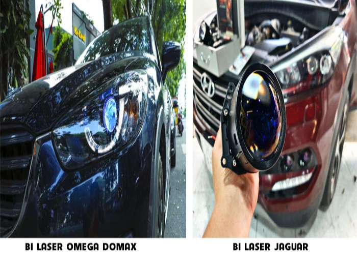 Bi Laser Omega domax và Bi Laser Jaguar