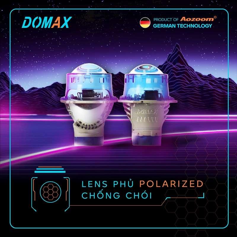 Bi Laser Omega Domax Hình Ảnh Thực Tế