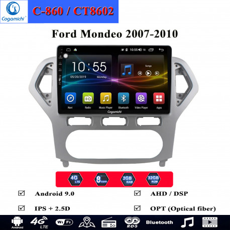 man hinh android cogamichi c 860 theo xe ford mondeo 2007 2010