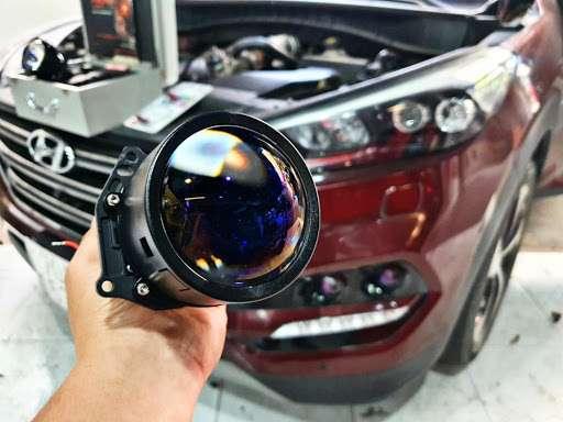 Bi Laser Jaguar Thực Tế
